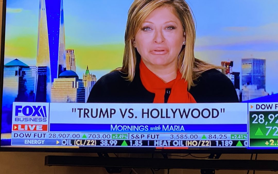 Fox News: Maria Bartiromo and  Daphne Barak